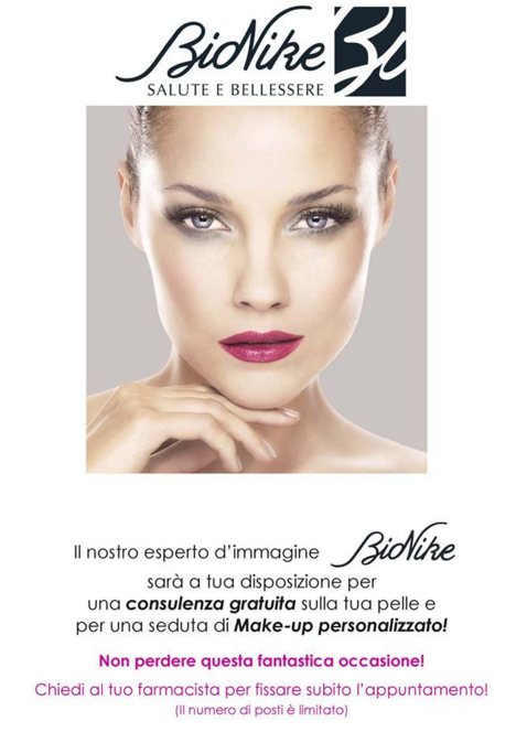 Evento make up bionike std modella